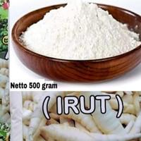 Tepung Umbi Garut / Irut / Angkrik / Arrowroot Powder 500 gram
