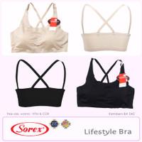 Sorex Bralette Bra Lifestyle Pesta Seamless Tali X Kemben BA 042