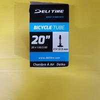 Ban Dalam 20 x 1.50 - 2.00 Deli Tire Fv 51.5mm