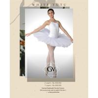 White Tutu Ballet Skirt Custom Handmade