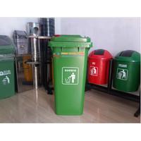Tempat Sampah Dorong Kapasitas 120 Liter 0011