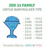 Makassar! Jok Family Dudukan Kereta Baby Walker Family Original 136
