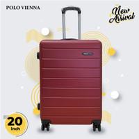 Koper Bagasi Murah Polo Viena Model 001 20 Inch ABS Fiber,Koper kabin