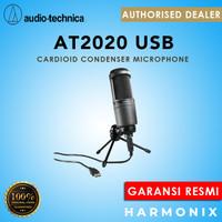 Audio Technica AT2020USB / AT2020 USB CARDIOID CONDENSER MICROPHONE - Hitam