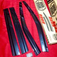 Door Visor Black Slim - Talang Air Datsun Go