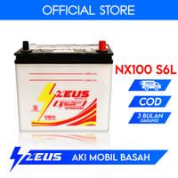 Aki Datsun Go Zeus NX100 S6L 55B24L Aki Basah 12v 55Ah