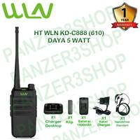 Paket Standart HT WLN KD-C888 PLUS (610) Daya 5 Watt, Baterai 1500mAh