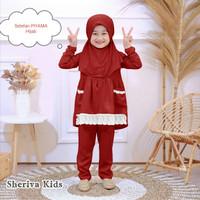 MK - Sheriva Kids / baju muslim anak perempuan usia 4-5 tahun