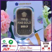 Logam Mulia 100 gram ANTAM- Press Hijau