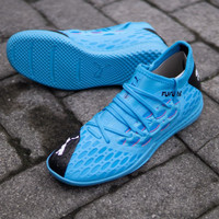Sepatu Futsal Puma Future 5.3 Netfit IT Blue Original 10579901