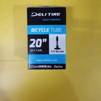 Ban Dalam 20 x 1 3-8 Deli Tire Fv 60mm