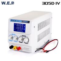 WEP 305D-IV 5A 30V DC Power Supply LCD Variabel Display Arus Tegangan