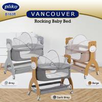 Tempat tidur bayi / Rocking baby bed VANCOUVER Pliko B163R