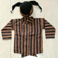 baju adat sorjan / lurik anak