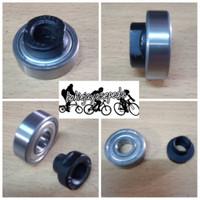 Bearings hub / knap roda sepeda depan belakang dan kones untuk as 15