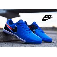 FREE BONUS!!! sepatu murah olahraga putsal Nike biru list orange