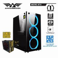 PC / COM RAKITAN RYZEN 5-2600 MSI B450M 8GB NIMITZ TR100 GT 710 2GB