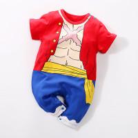 Baju Romper Baby Jumper Anak Bayi cowo Anime ONE PIECE MONKEY D LUFFY