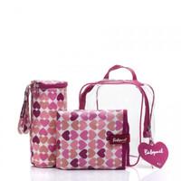 Babymel Gift Set Heart - diaperbag lucu