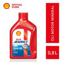 Oli Motor Shell Advance AX3 20W-50 (0.8L)