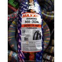 BAN LUAR/BAN MOTOR BELAKANG MATIC 90/90-14 MAXXIS DIAMOND/TUBELESS