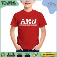 Kaos Baju Anak Tumblr SN-ASKTKT010 AKU KESAYANGAN PAPA DAN MAMA