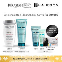 Kerastase Bain Prevention 250ml & Ciment Anti Usure 200ml