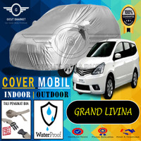 Selimut Sarung Body Cover Mobil Grand livina spin pengait ban