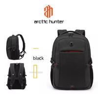 ARCTIC HUNTER B00338 Backpack Bag USB 15.6 - Tas Ransel Laptop BLACK