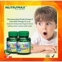 [ BPOM ] Nutrimax Kidz Omega 3 / Vitamin Omega 3 Fish Oil / MY MOM - Kidz Omega 30s