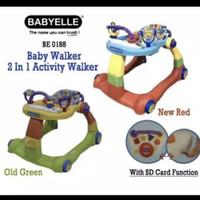 Baby Walker Baby Elle / BabElle 2 In 1 BE0188 - Green