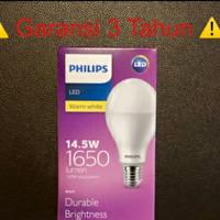 Lampu LED PHILLIPS 14,5 watt kuning warm white
