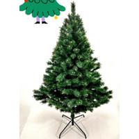 Pohon natal 3200 rimbun tebal hijau christmas tree hiasan tinggi 1.2 m