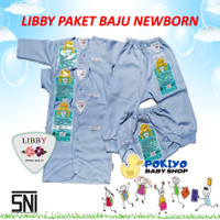Libby Paket Baju Bayi Newborn dan 3-6 Bulan