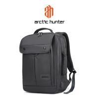 ARCTIC HUNTER B00325 Backpack Bag USB 15.6 - Tas Ransel Laptop BLACK