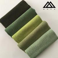 Bandana Rajut Premium MOZA - Green Squad