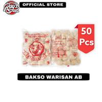 Bakso Warisan 319 Daging Sapi isi 50pcs - Baso warisan