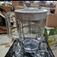 Jar Blender Philips HR 2102 2106 + Tutup ( Tanpa Pisau ) Original