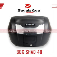 Box motor shad 40 sh40 SH 40 non cargo rack cocok nmax xmax vario dll