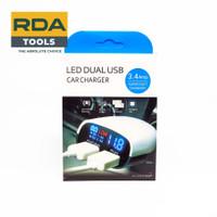 Car Charging Super Fast LED Dual Port USB 3.4A Charger HP LED Di Mobil