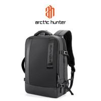 ARCTIC HUNTER B00351 Backpack Bag USB 15.6 - Tas Ransel Laptop BLACK