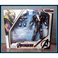 ZD Toys Original Marvel Avengers endgame War Machine Figure 1904-03