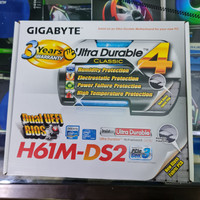 MOTHERBOARD GIGABYTE H61M-DS2 / GARANSI RESMI 3 TAHUN / LGA 1155