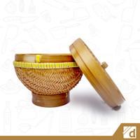 Wakul Nasi Besar, Bakul Nasi, Boboko, Wadah Nasi Bambu Tradisional