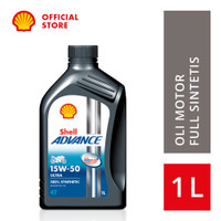 Oli Motor Shell Advance Ultra 15W-50 (1L)