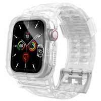 Apple Watch Strap Case - Clear Transparent (38 / 40 mm    42 / 44 mm)