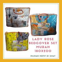Bedcover Lady Rose Ukuran King 180x200 No 1