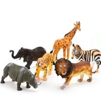 Sensory Play Mini ANIMAL Set isi12 Pcs/ Mainan Montessori