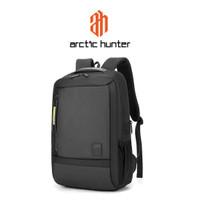 ARCTIC HUNTER B00357 Backpack Bag USB 15.6 - Tas Ransel Laptop BLACK