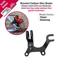 Adaptor Disc Brake Dudukan Bracket Rem Cakram Sepeda Frame Jadul